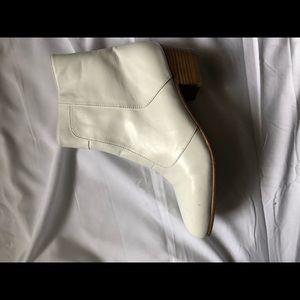 Giorgio Brituni White Leather Boots